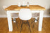 The Artisan White Painted Plank Dining Table