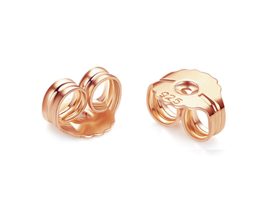 Earring Backs Rose Gold