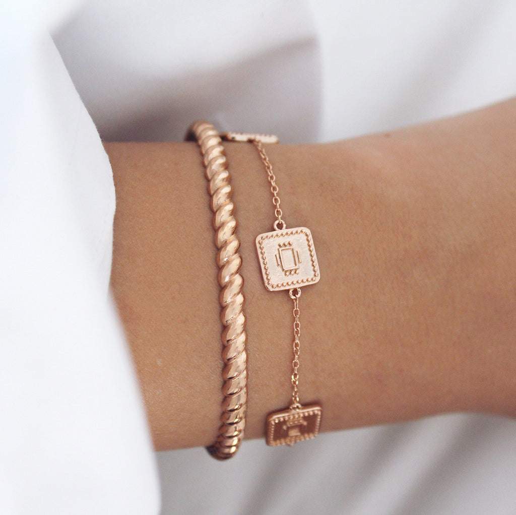 London Cuff Rose Gold