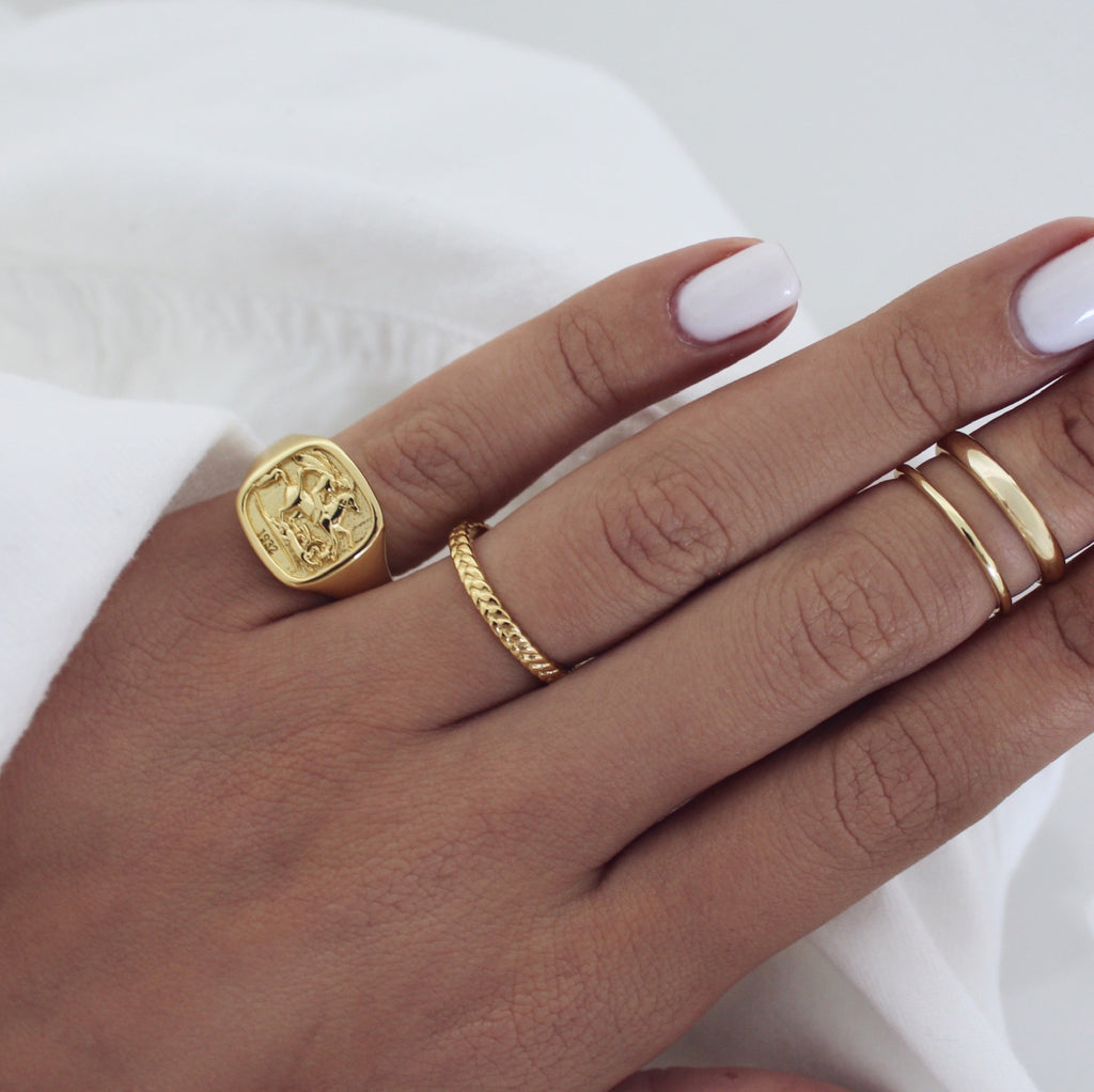 Agia George Ring Gold