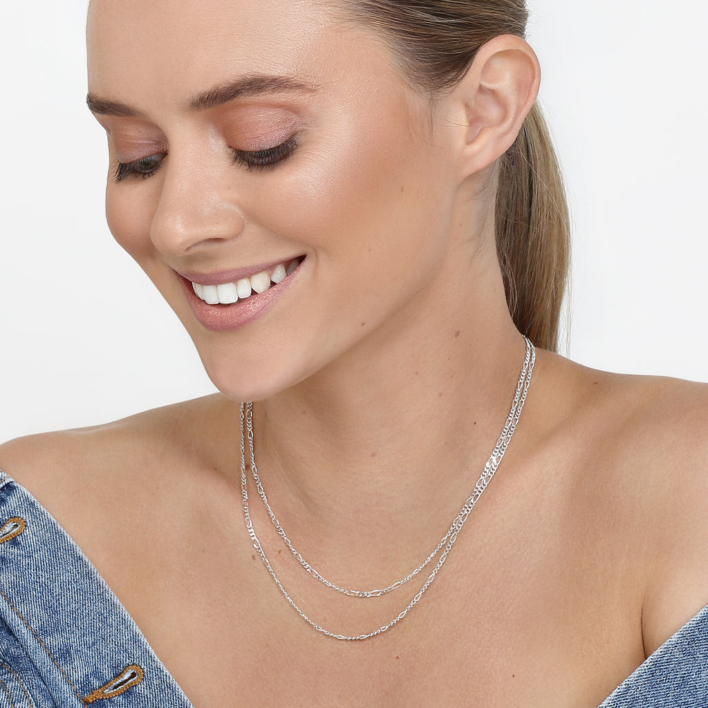 Aria Necklace Chain Silver