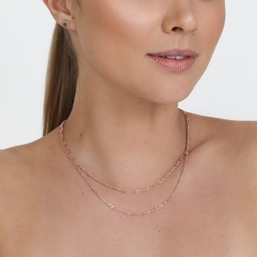 Aria Necklace Chain Rose Gold