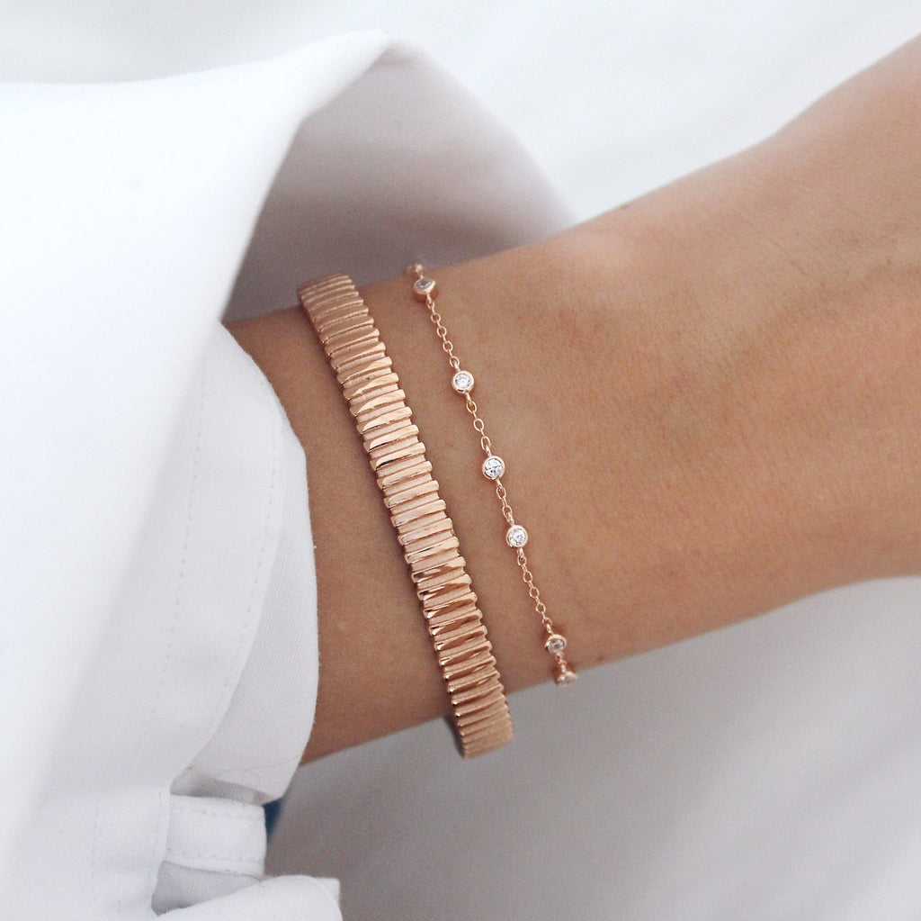 Cairo Bangle Rose Gold