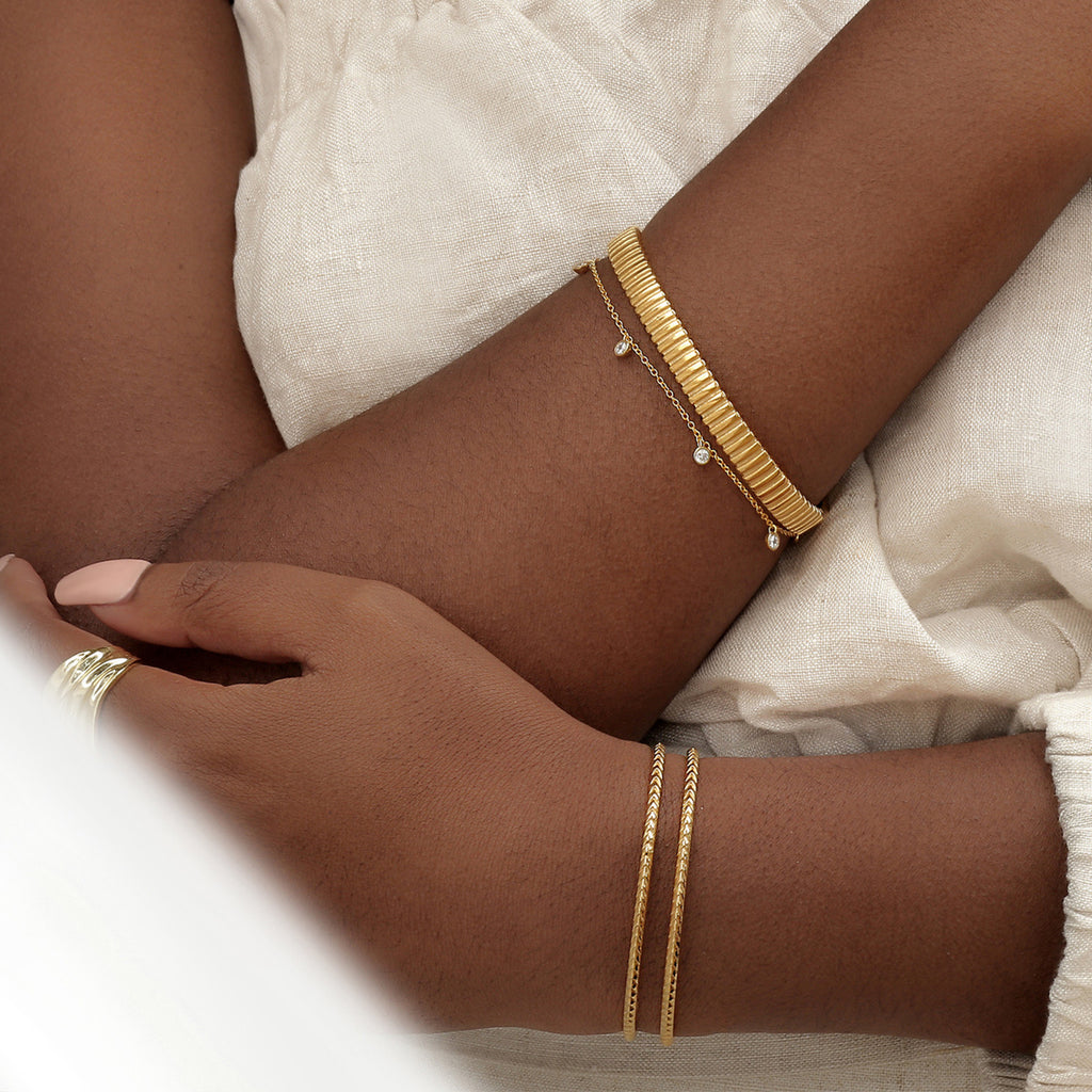 Cairo Bangle Gold