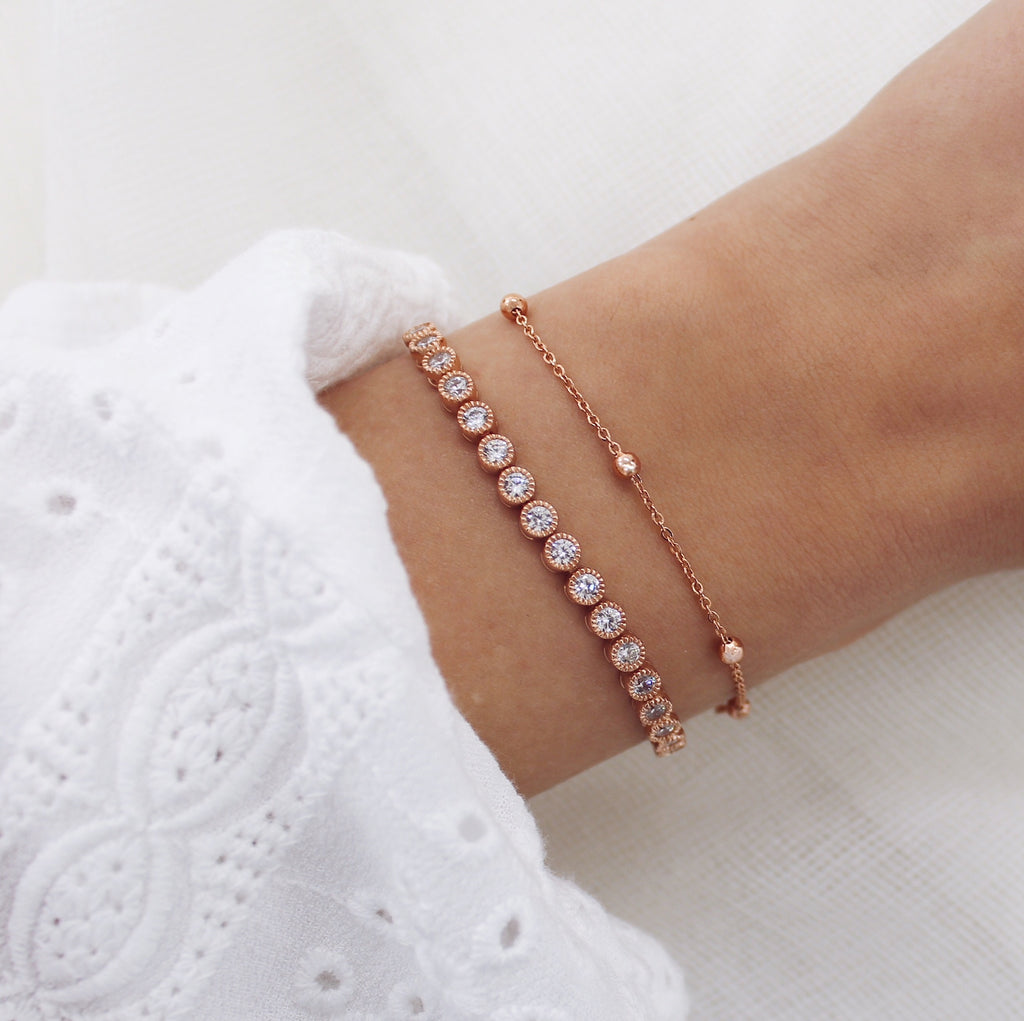 Carrie Bracelet Rose Gold