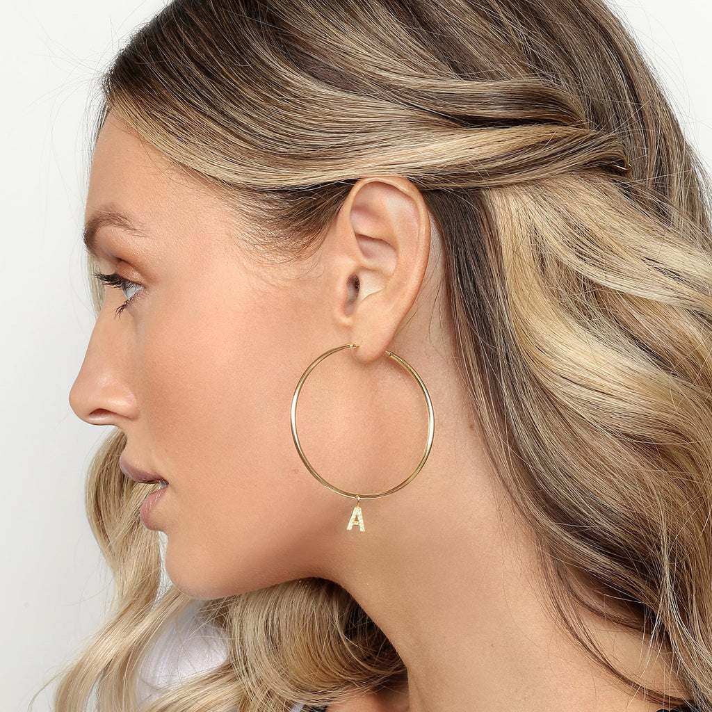 Lulu Hoops Gold