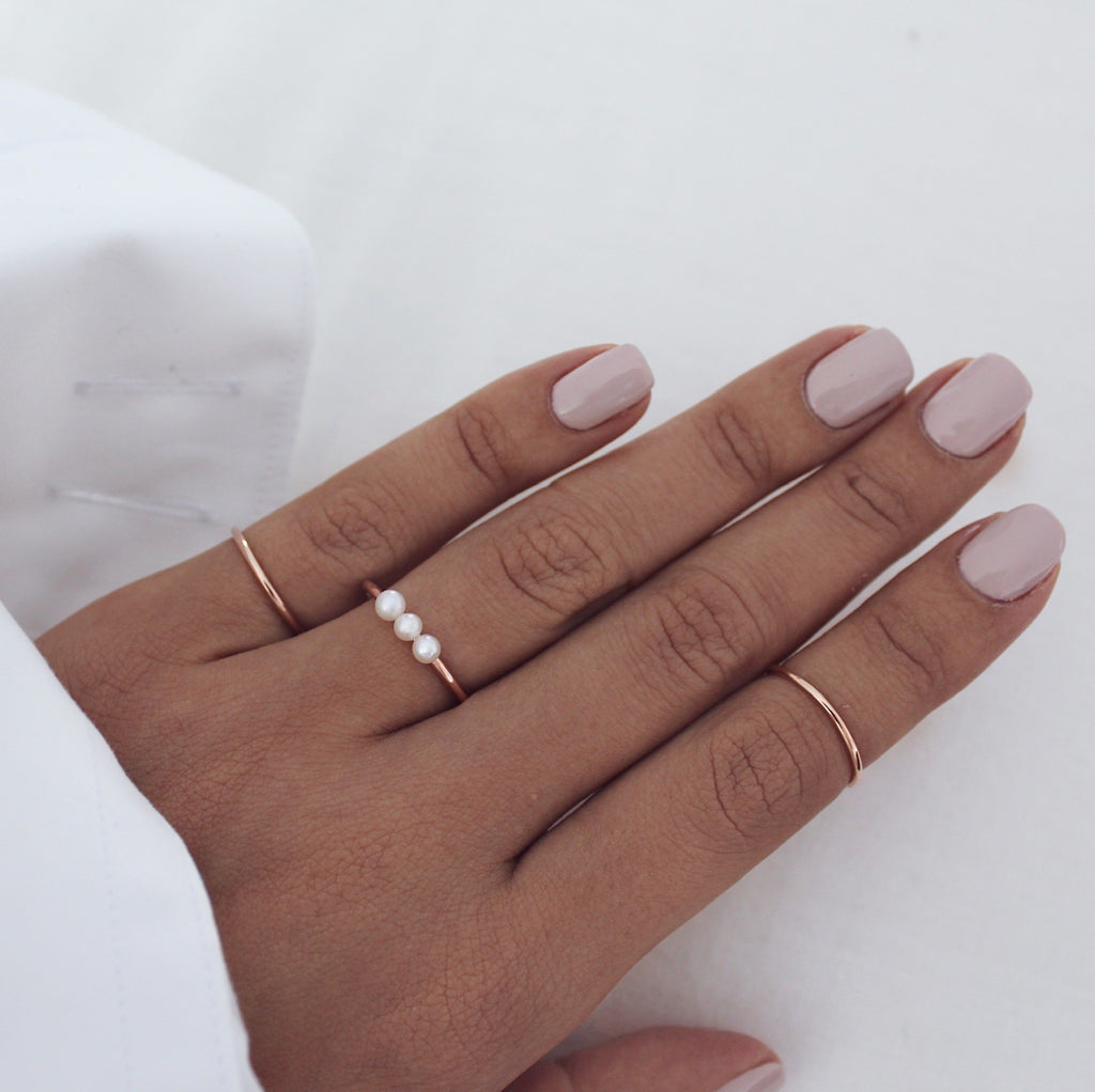 Hayden Ring Rose Gold