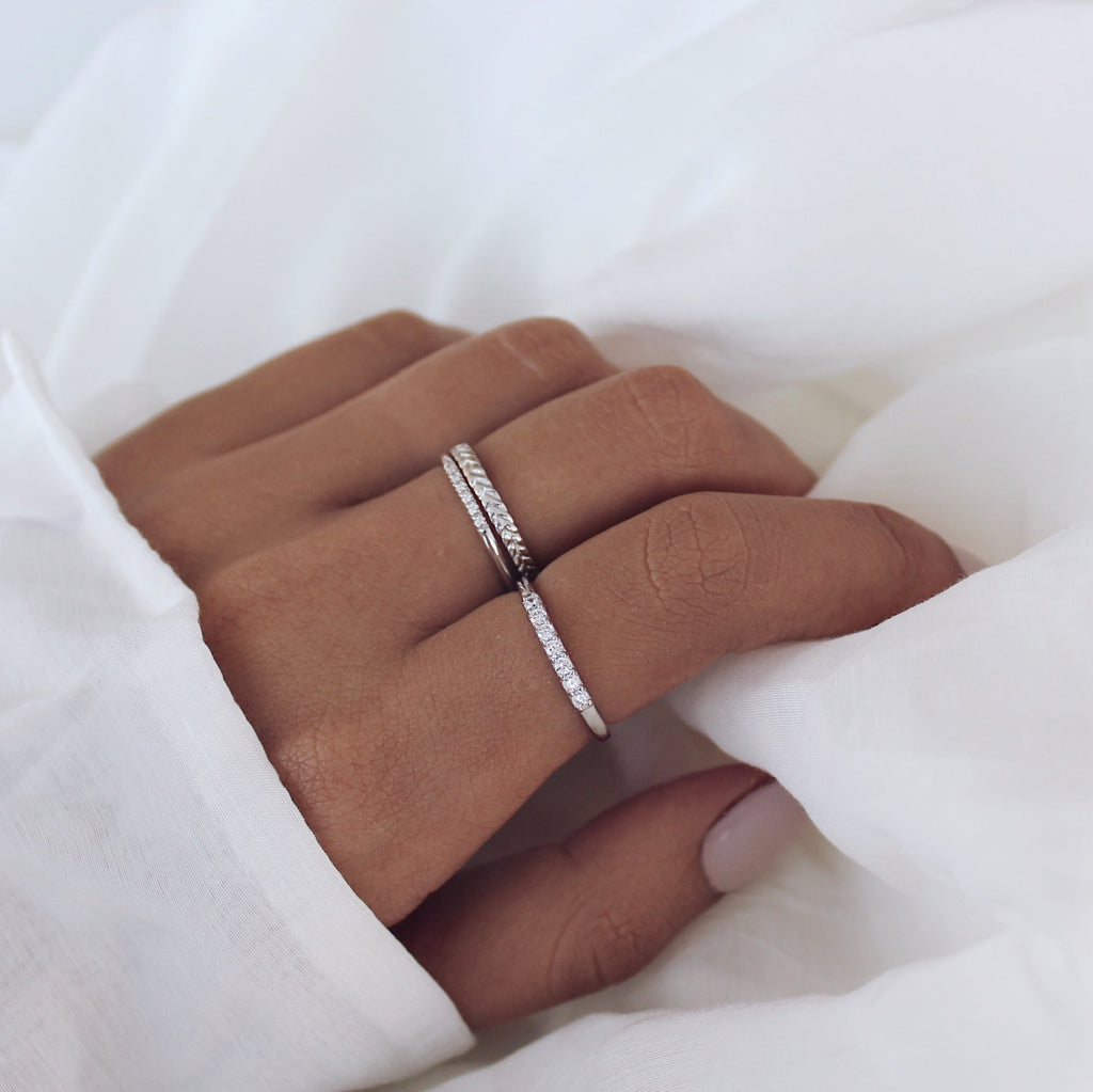 Ginger Ring Silver