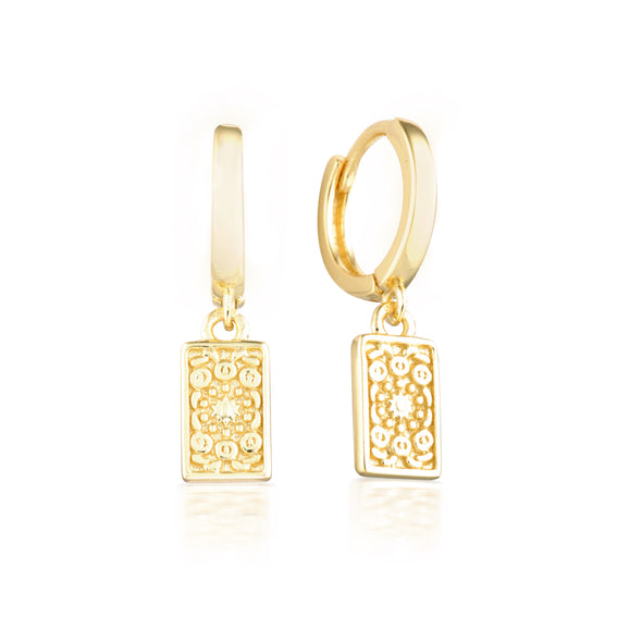 Fira Earrings Gold