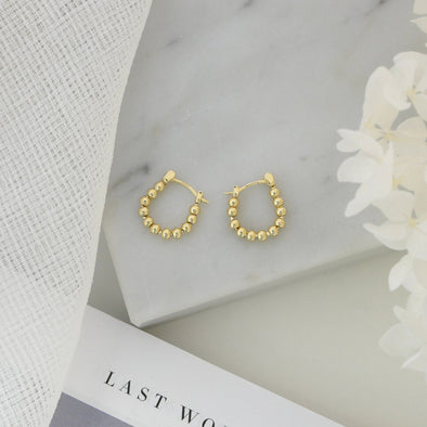 Lennox Earrings Gold
