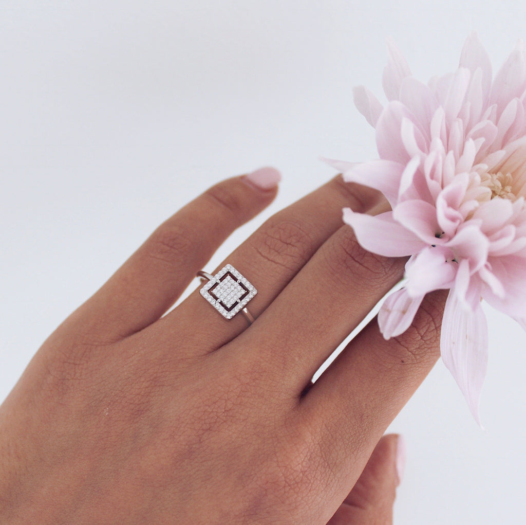 Stefania Ring Silver