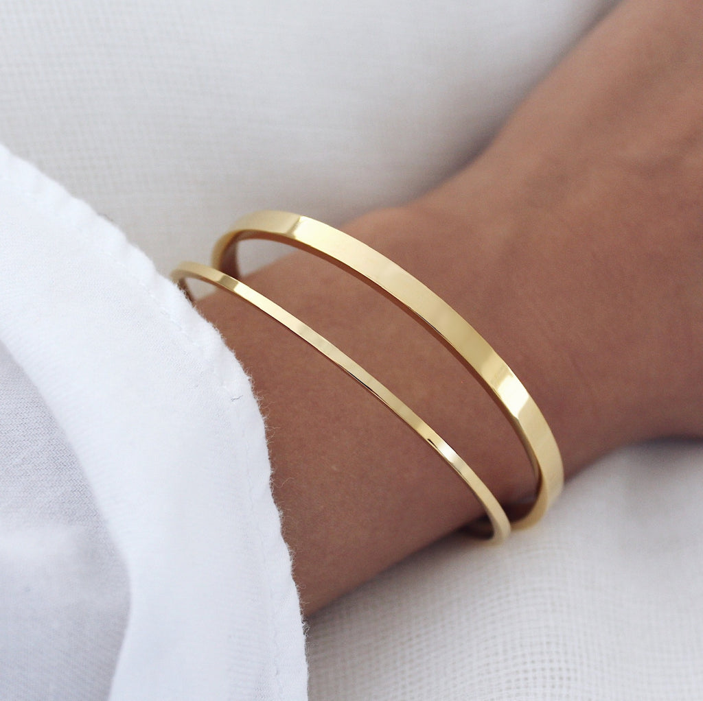 Joplin Bangle Set Gold