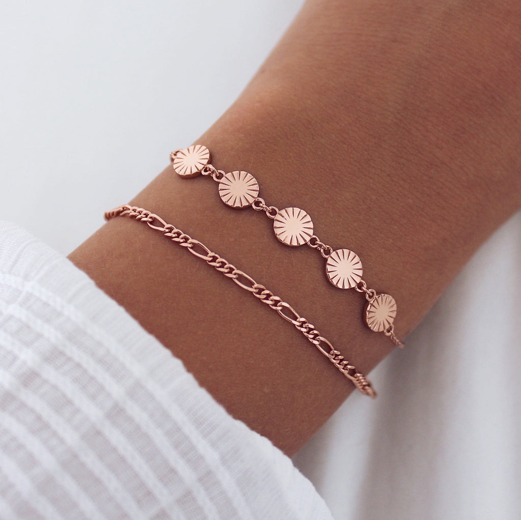 Aria Bracelet Chain Rose