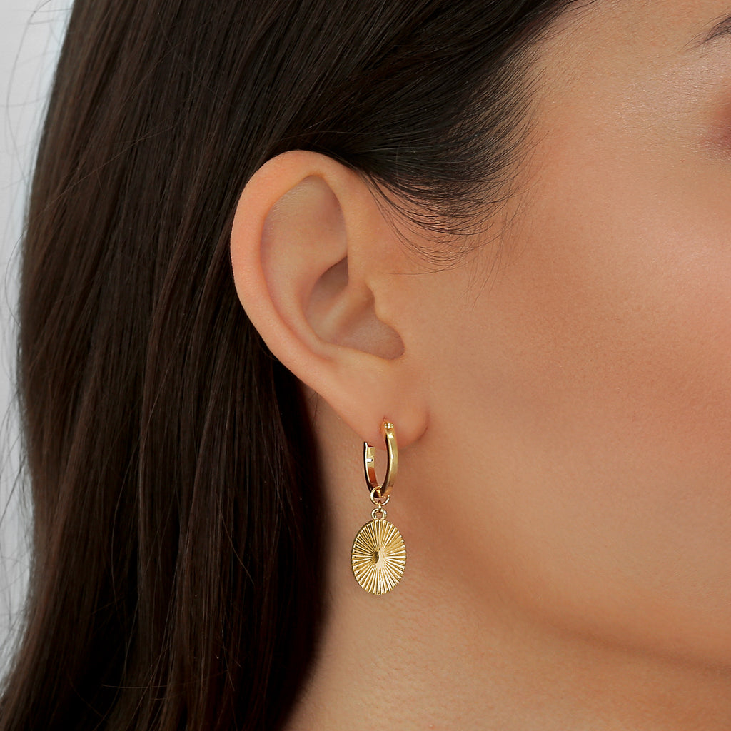Sage Earrings Gold