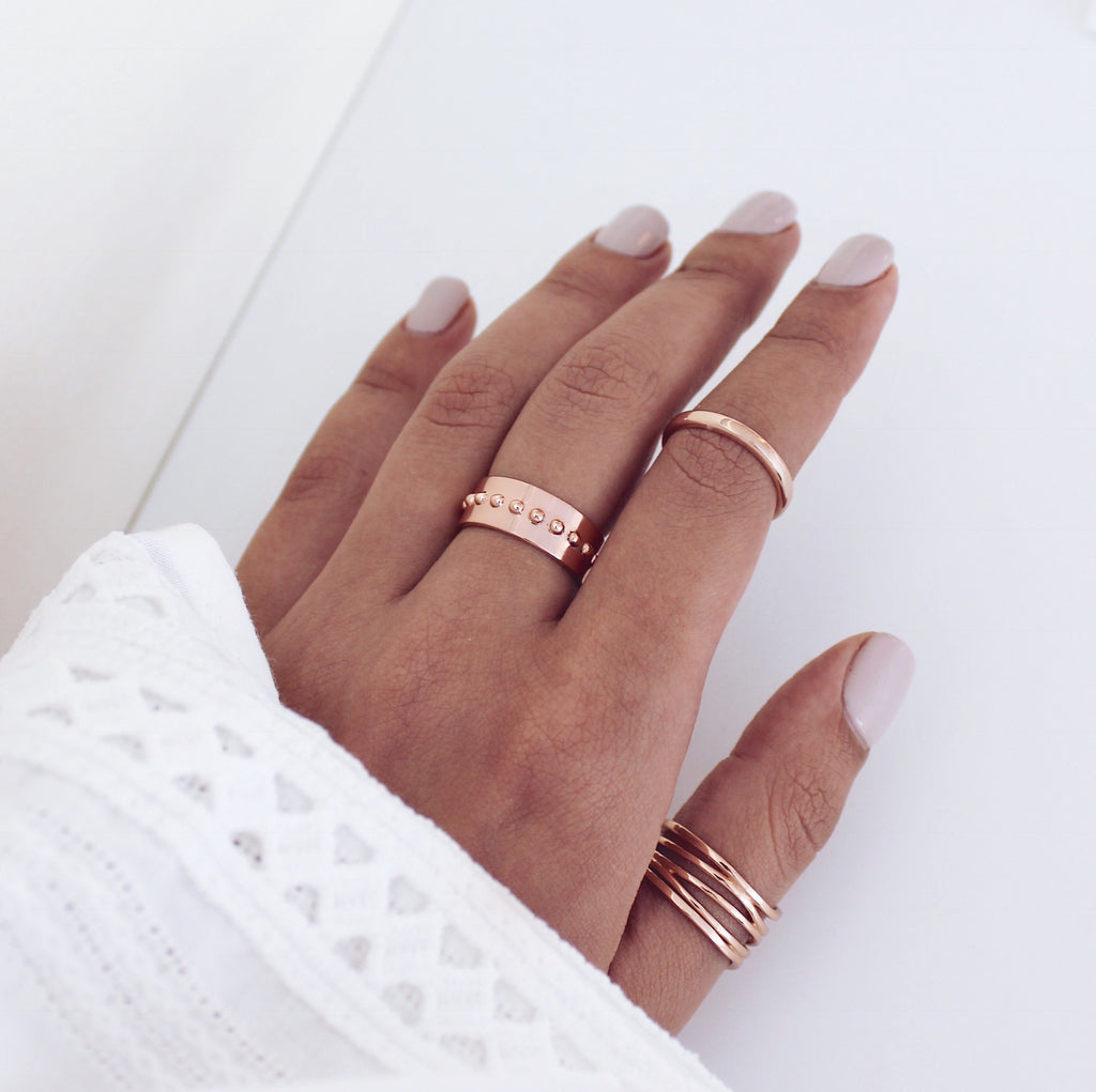 Iesha Ring Rose Gold