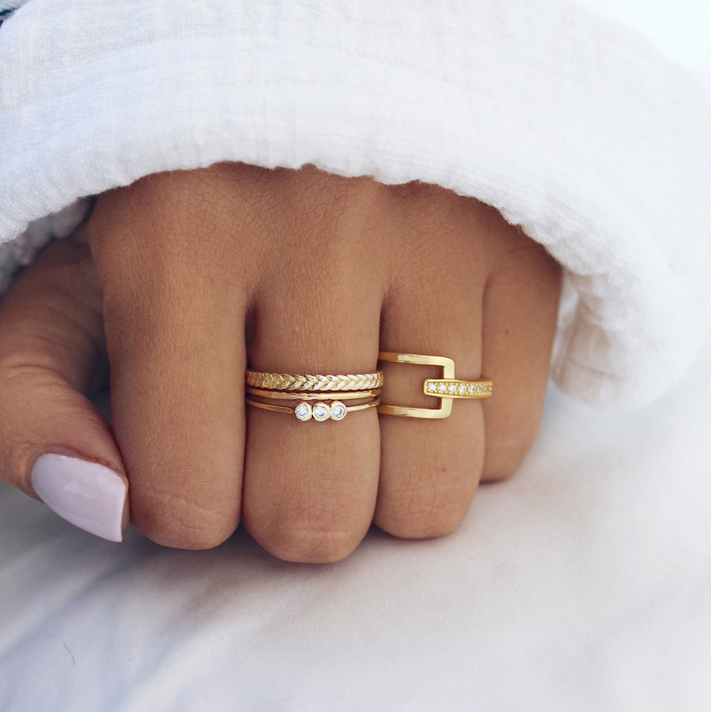 Charlie Ring Gold