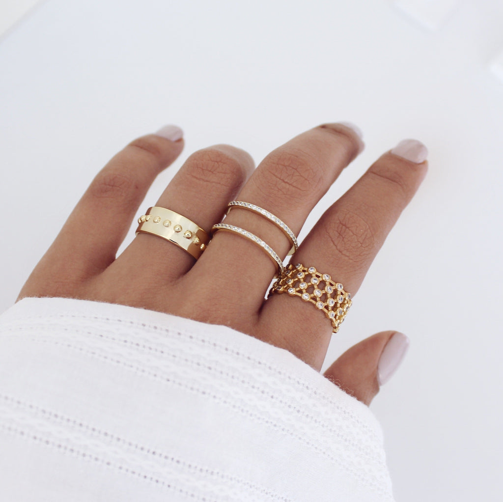 Iesha Ring Gold