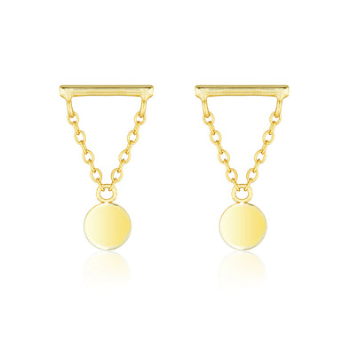Storm Earrings Gold