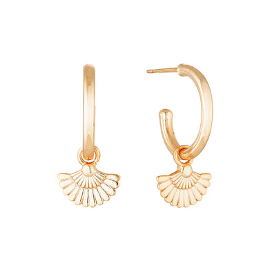 Paloma Earrings Rose Gold