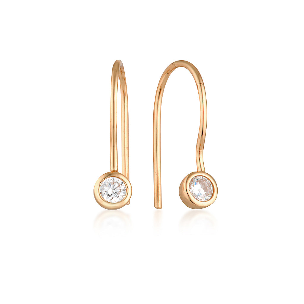 Lucy Earrings Rose Gold