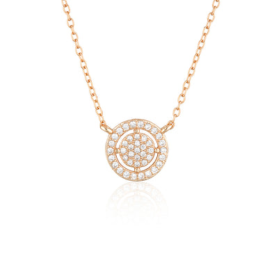 Olivia Necklace Rose Gold