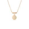 Storm Necklace Rose Gold