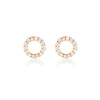 Harper Earrings Rose Gold