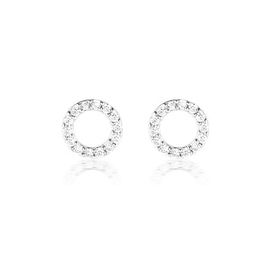 Harper Earrings Silver