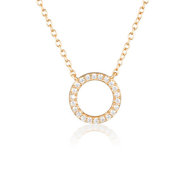 Harper Necklace Rose Gold
