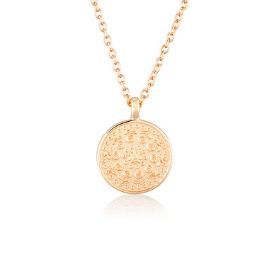 Pella Necklace Small Rose Gold