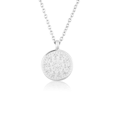 Pella Necklace Small Silver