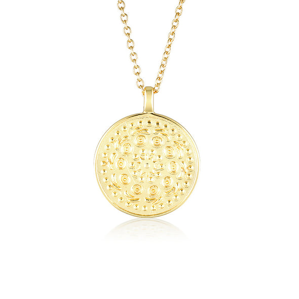Pella Necklace Large Gold