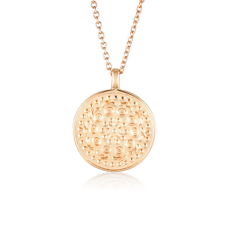 Pella Necklace Large Rose Gold