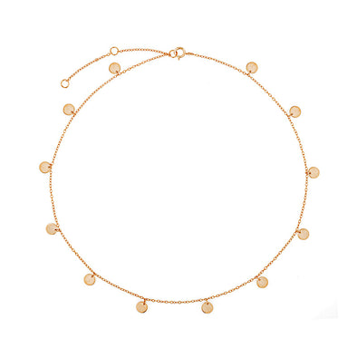Stasi Choker Rose Gold