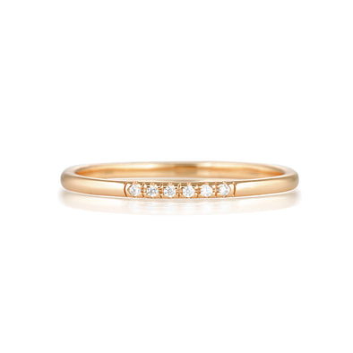 Sia Ring Rose Gold