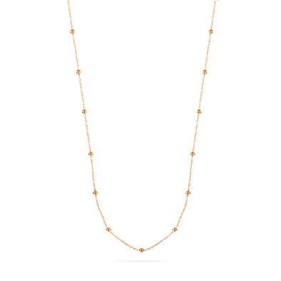 Carrie Necklace Rose Gold