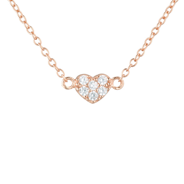 Rosie Necklace Rose Gold