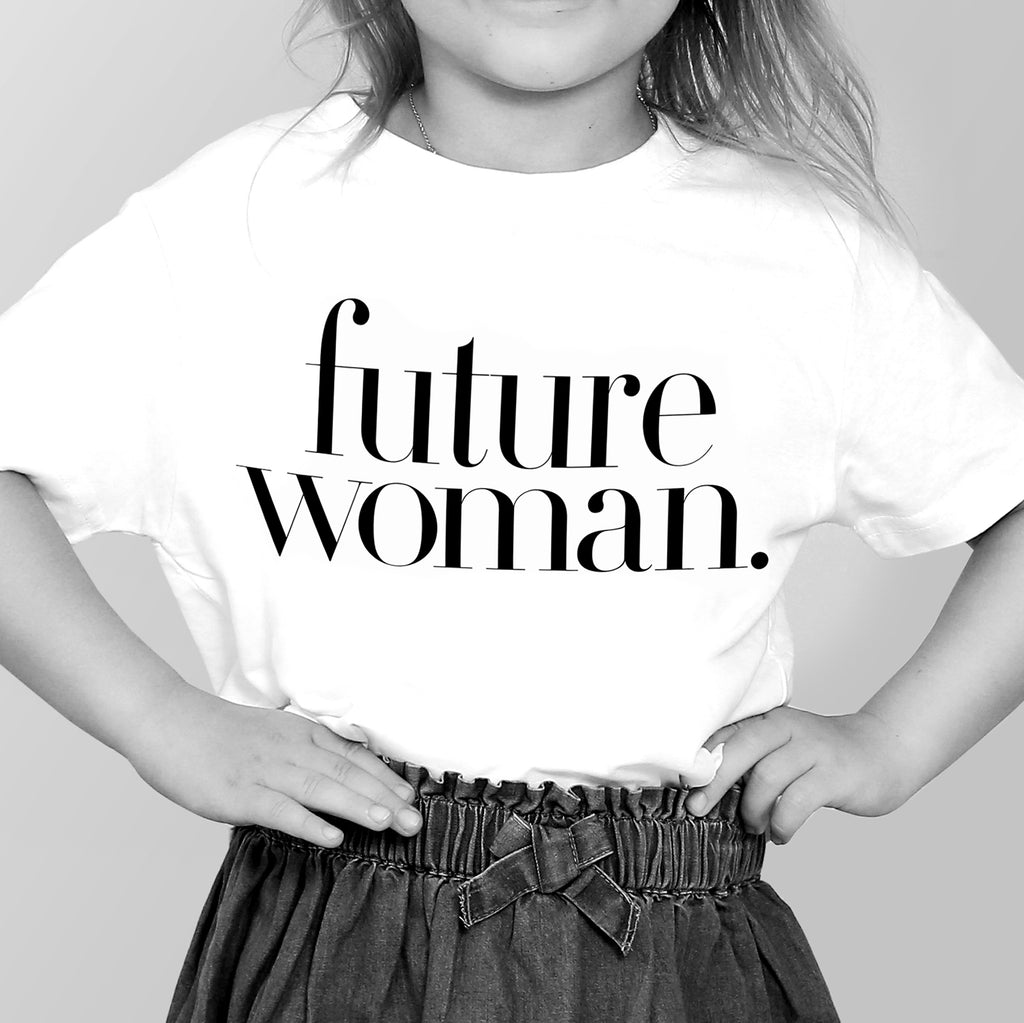future woman. Children's T-shirt