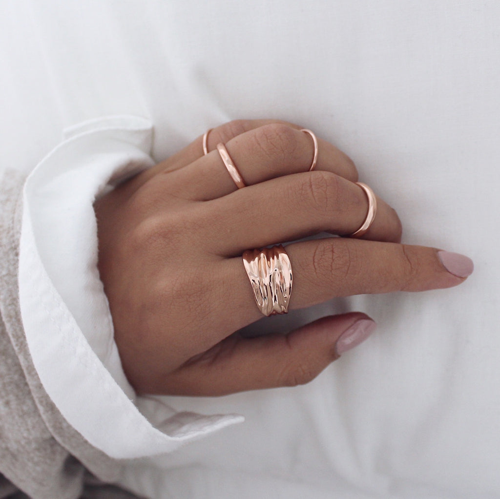 Irina Ring Rose Gold