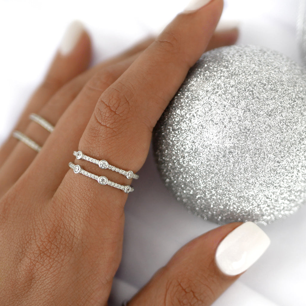 Jamie Ring Set Silver