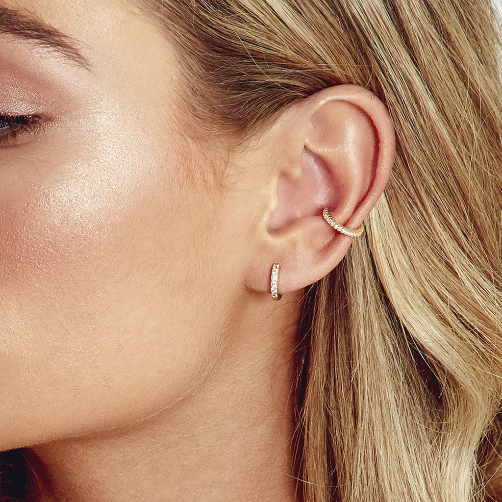 Bec Ear Cuff Gold