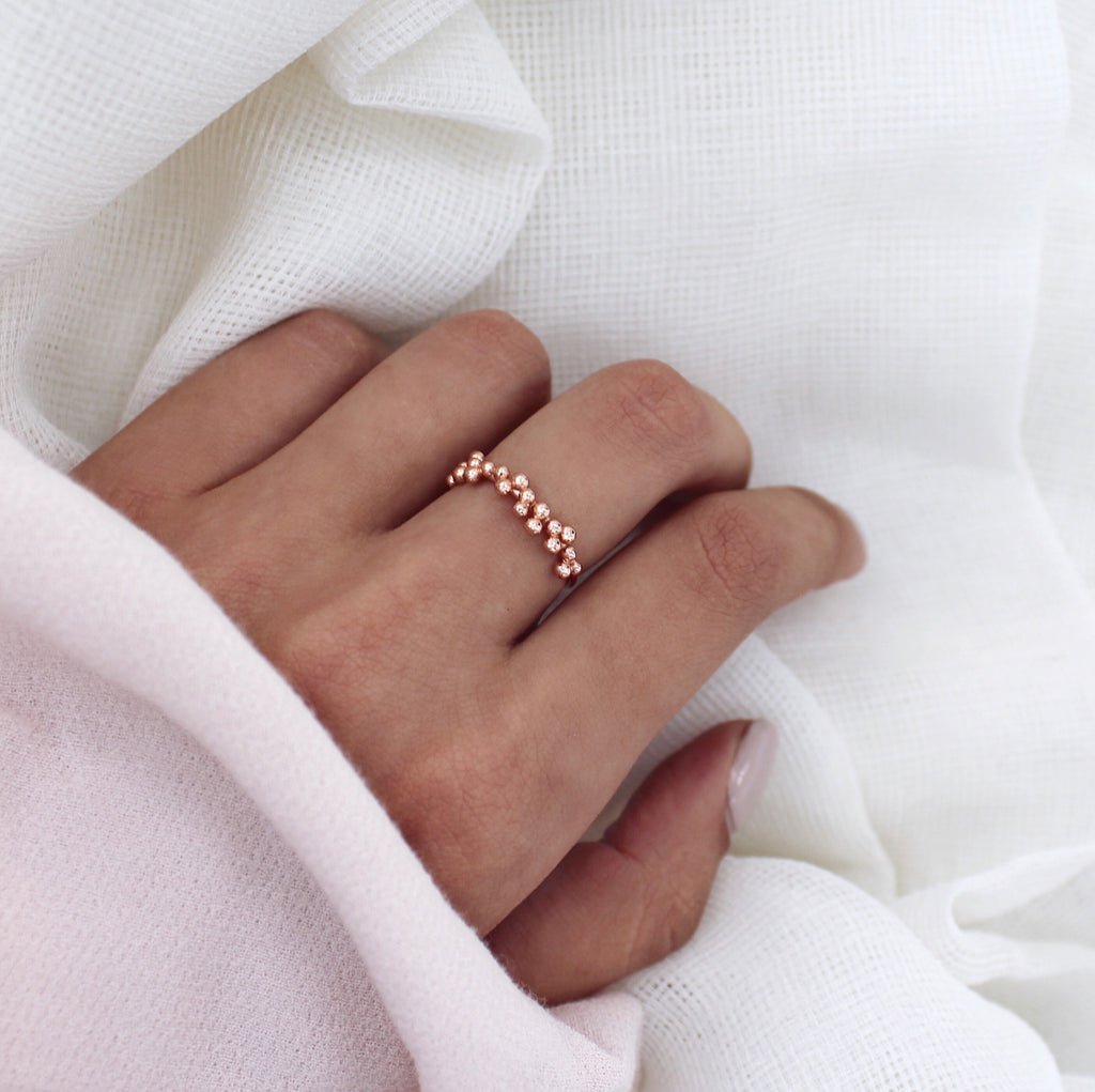 Lola Ring Rose Gold