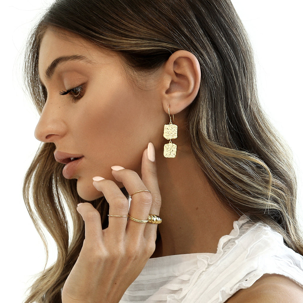 Montana Earrings Gold