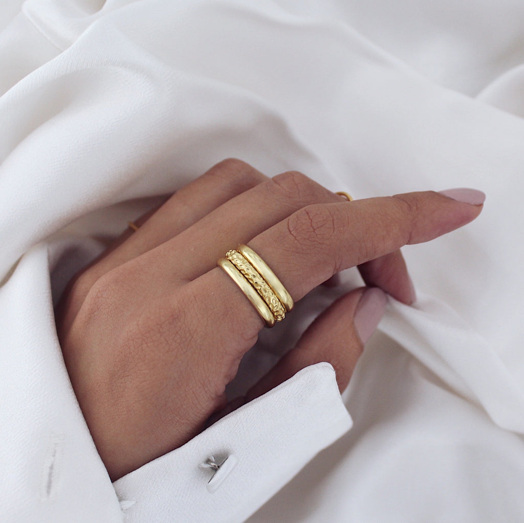 Nadia Ring Set Gold