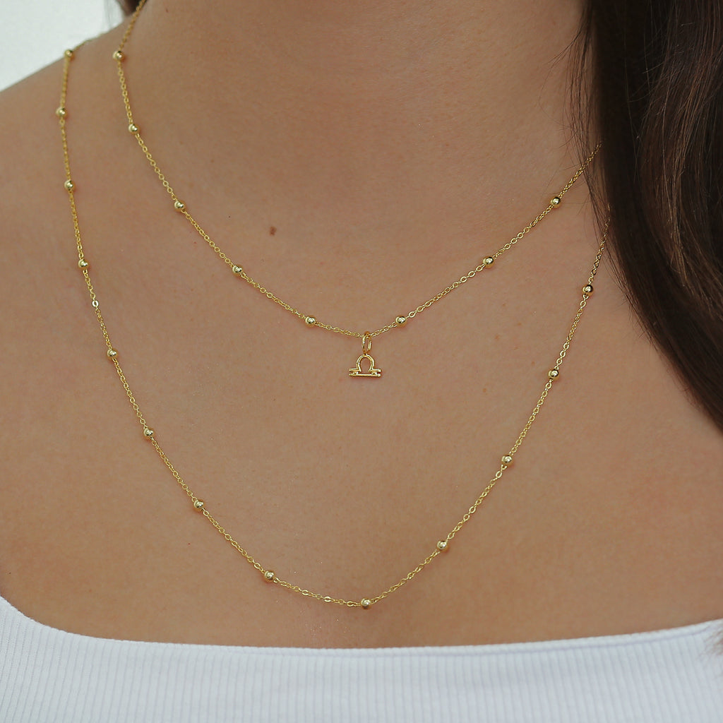 Carrie Necklace Gold