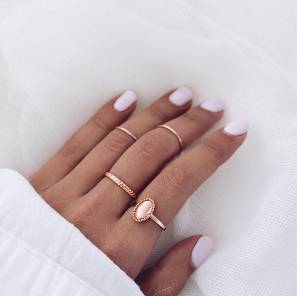Peta Ring Rose Gold