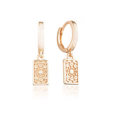 Fira Earrings Rose Gold