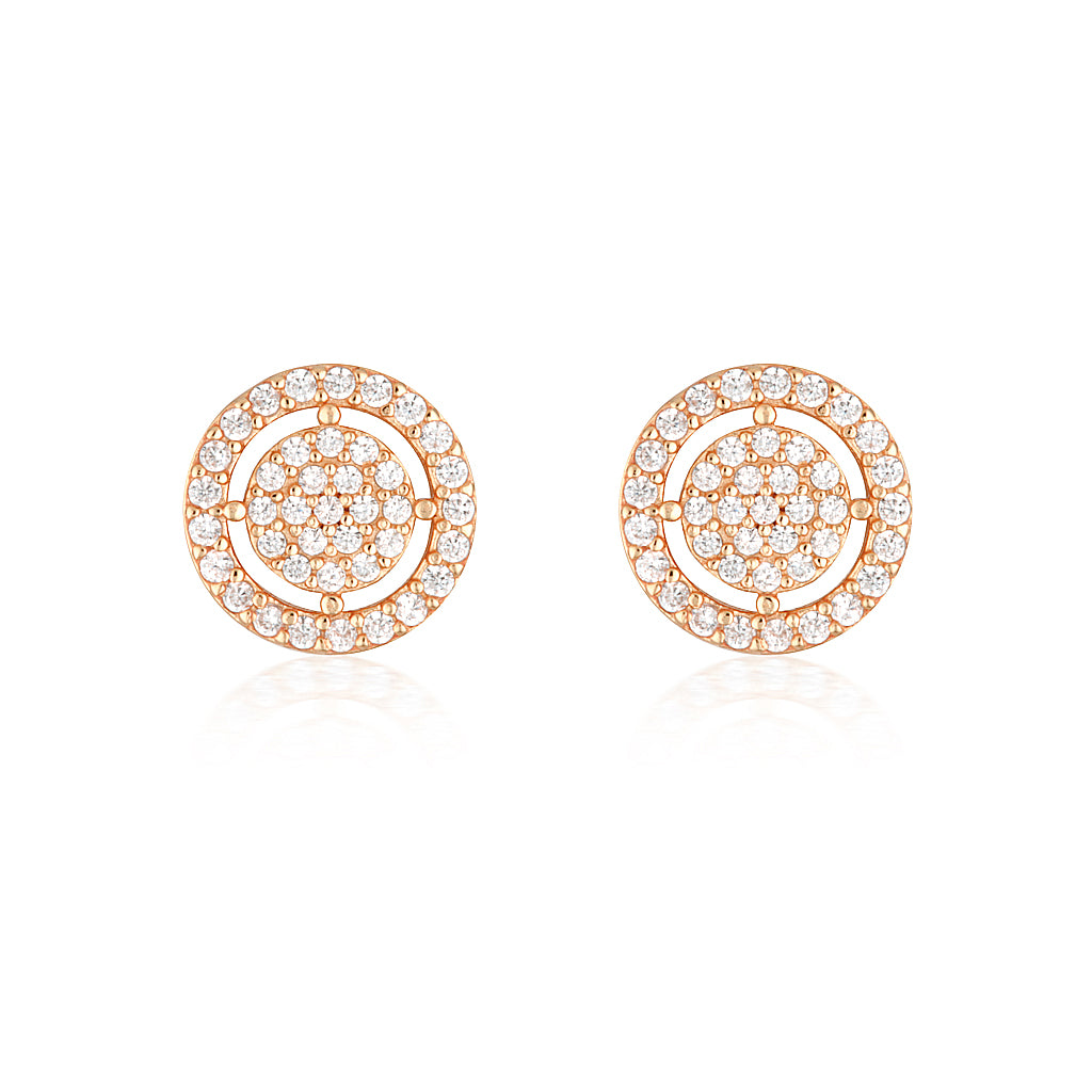 Olivia Earrings Rose Gold