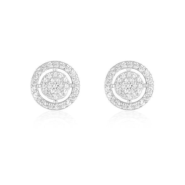 Olivia Earrings Silver