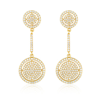 Olivia Drop Earrings Gold